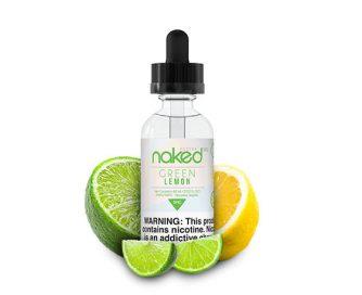 green lemon e juice naked 100